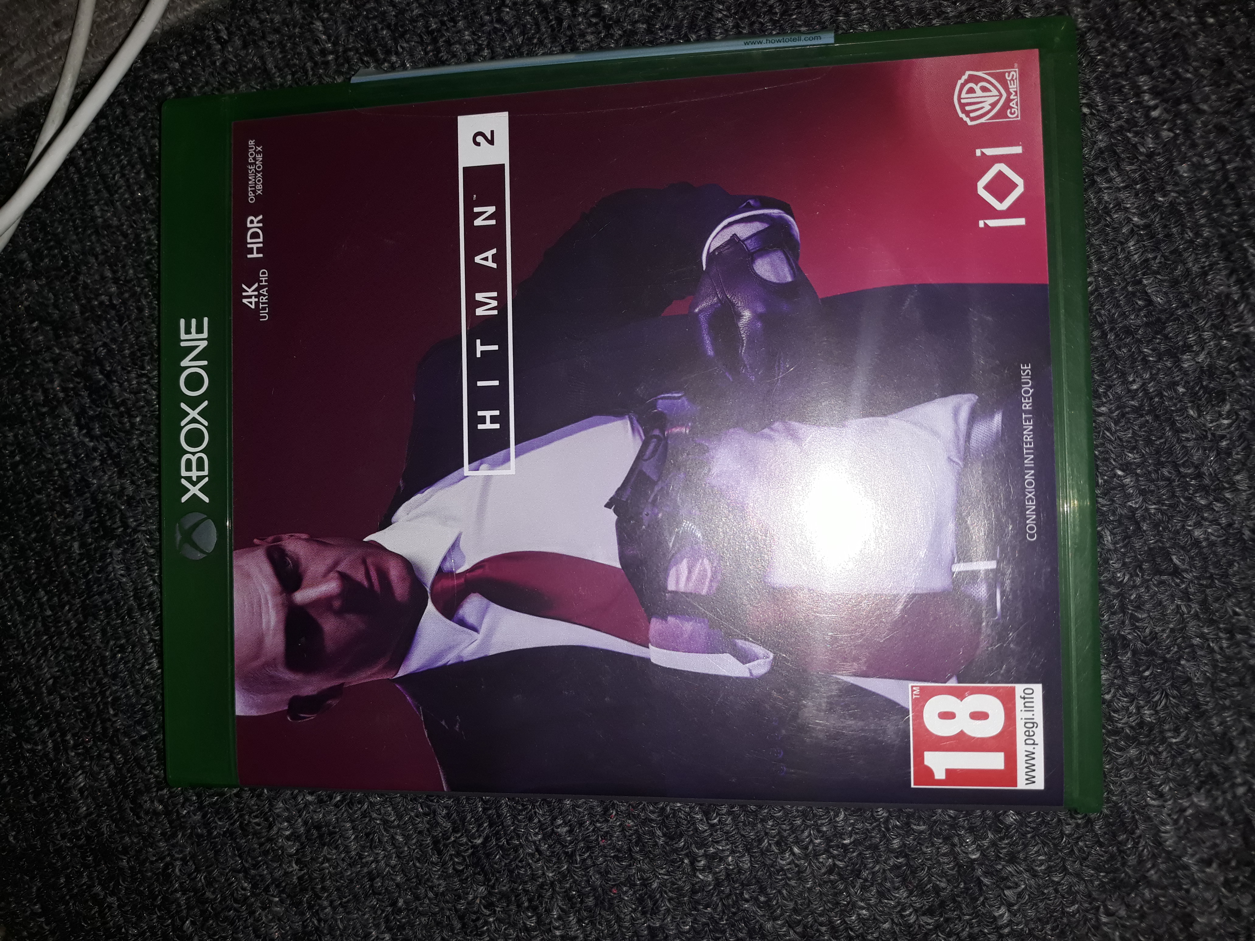 Cd hitman 2 xbox one Vends cd hitman 2 xbox one Envoyez moi un message whatsapp si interesse